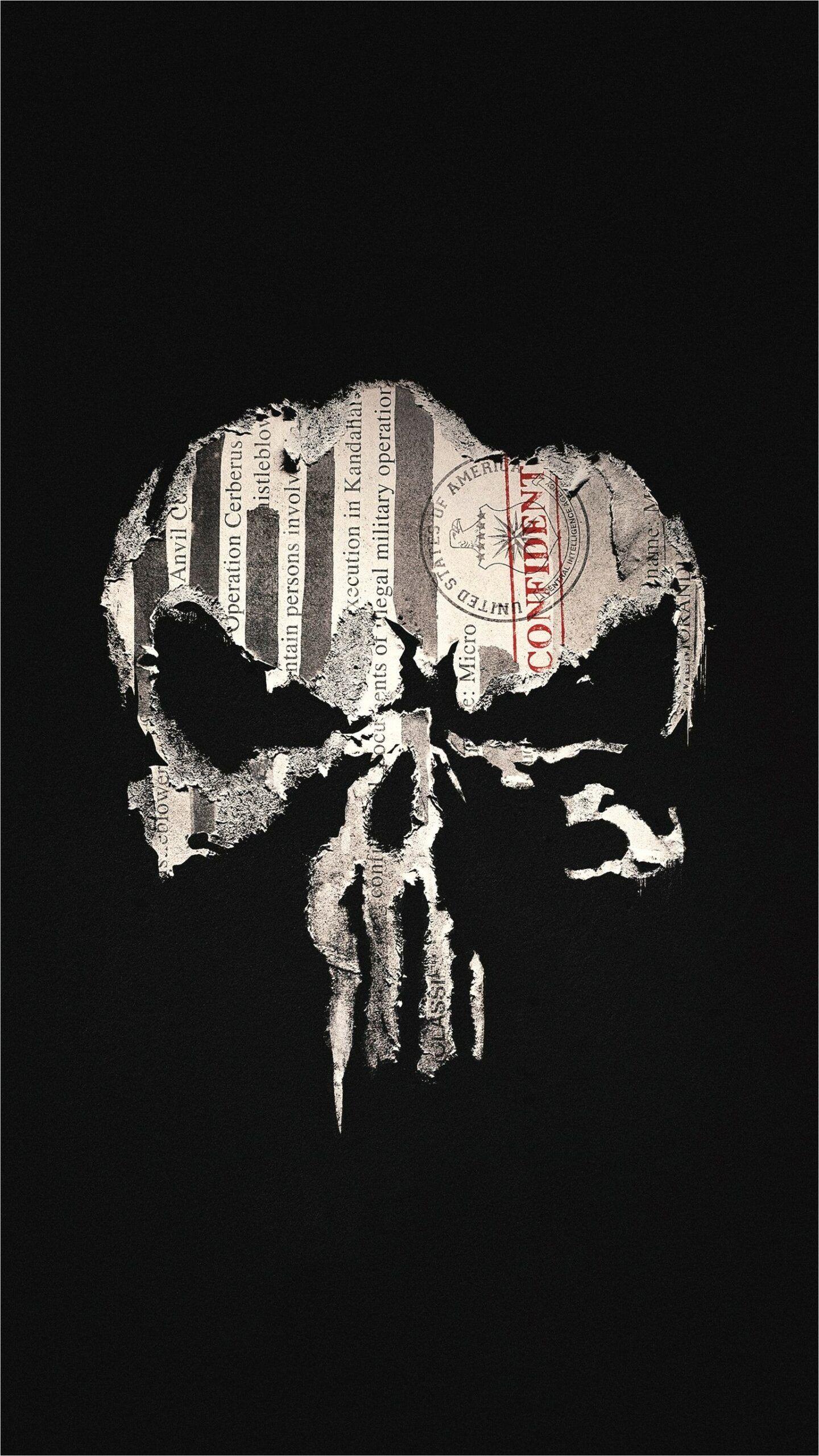 4d Skull 4k Cell Wallpaper In 2020 Punisher Superhero Wallpaper Punisher Marvel