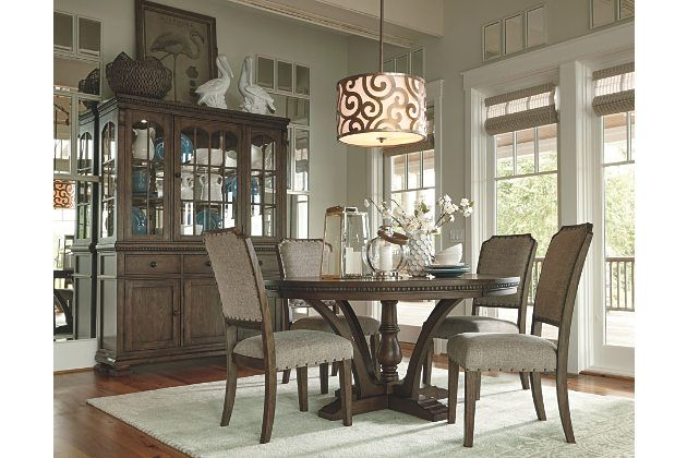 Larrenton Table And Base Round Dining Room Table Dining Room Table Fixer Upper Dining Room