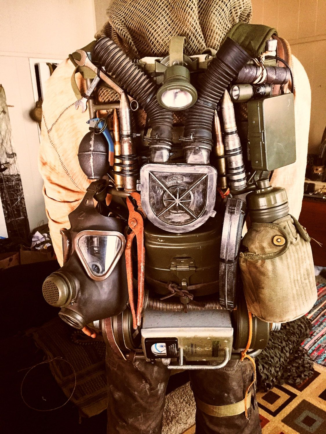 Fallout / Mad Max Post Apocalyptic Scavenger Backpack by ...
