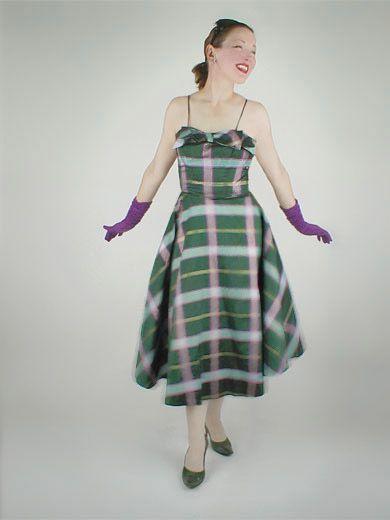 50s Taffeta Dresses