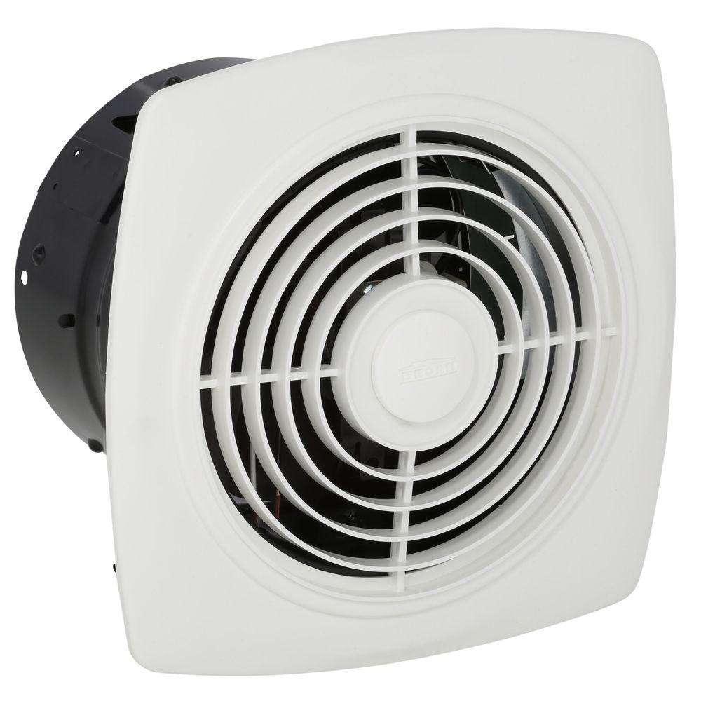 Broan 180 Cfm Ceiling Vertical Discharge Exhaust Fan White