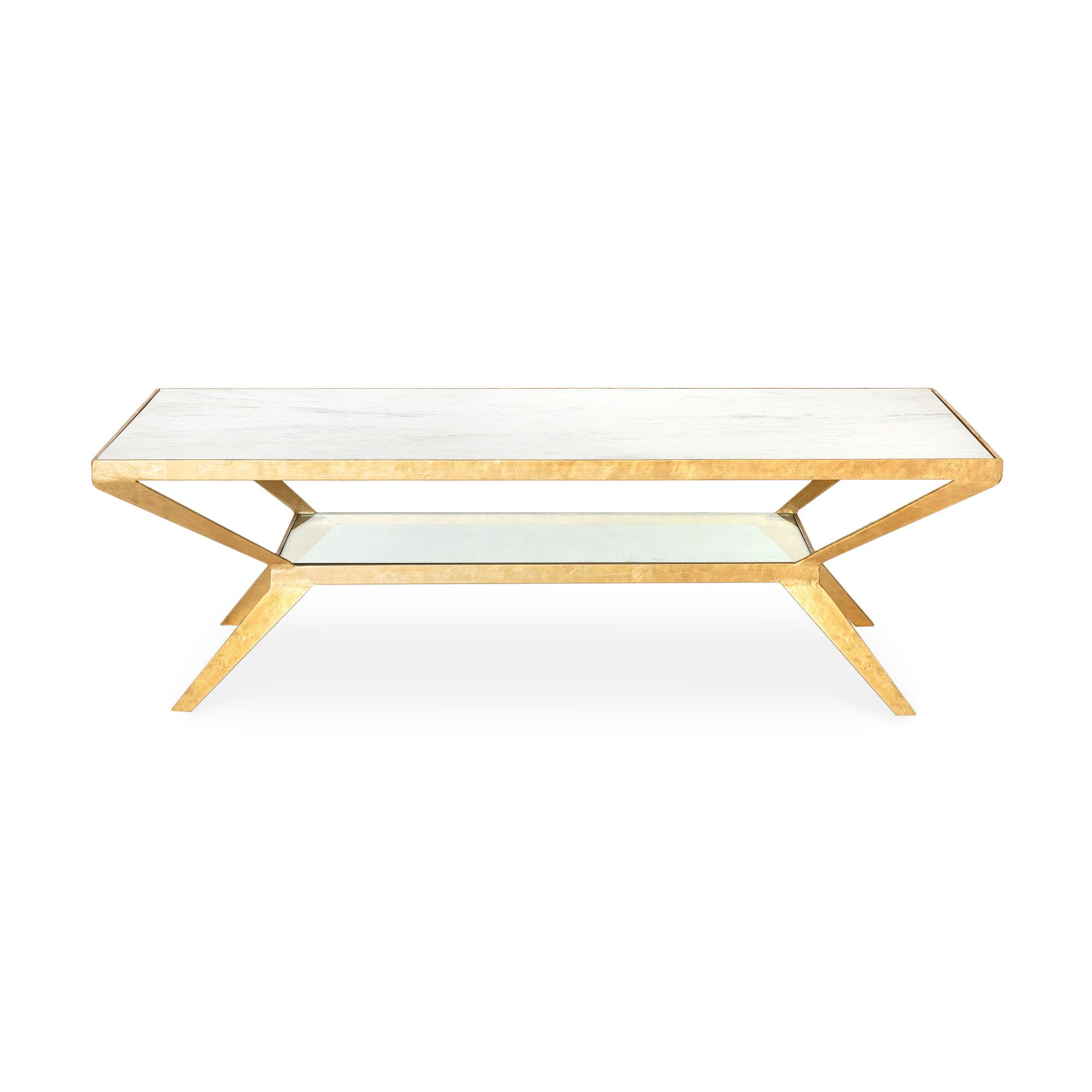 Buy the White Luxe Diamond Coffee Table at Oliver Bonas We