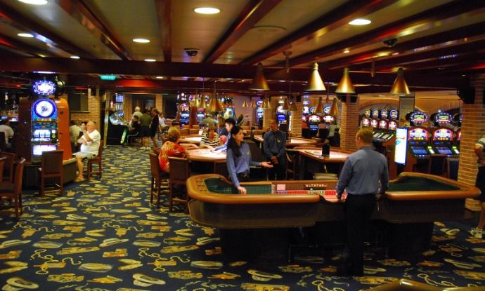 Visit Lady Luck In Person Aboard The Emerald Princess II Casino - Cruise ship casino