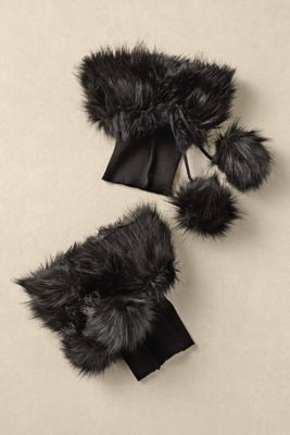Faux Fur Boot Cuffs from Soft Surroundings