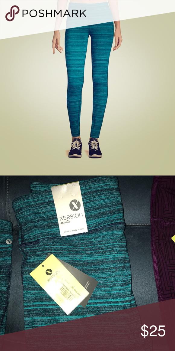 6e6595fd2efb4 Xersion Studio Leggings 93% Cotton, 7% Spandex Xersion Pants Leggings
