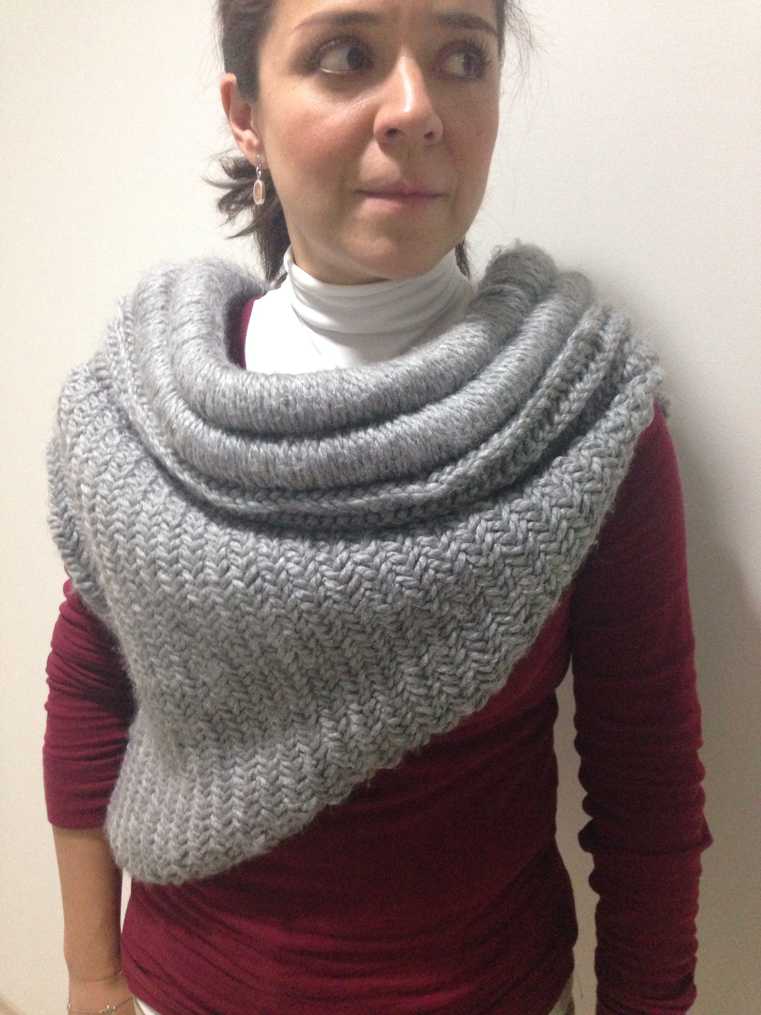 Katniss cowl   Crochet clothes, Loom knitting, Scarf ...