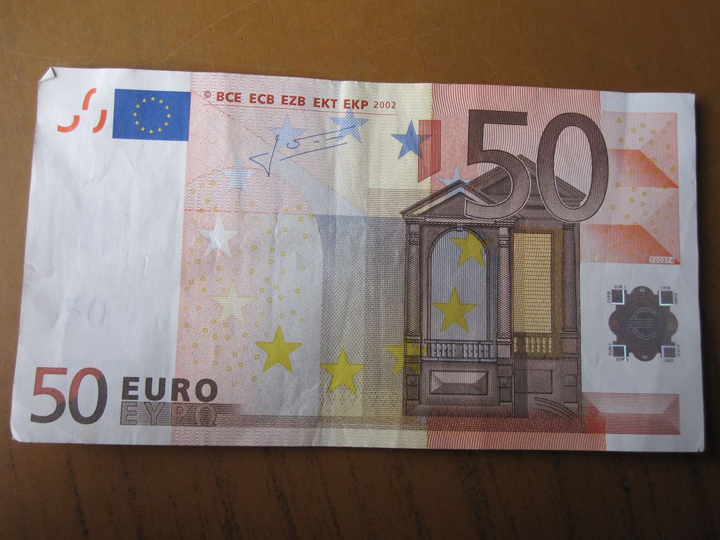 50 euro bank note bank notes euro notes
