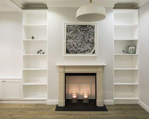 Superior Westmoreland Terrace By Ardesia Design. Living Room Bespoke Joinery And  Limestone Fireplace. #interior