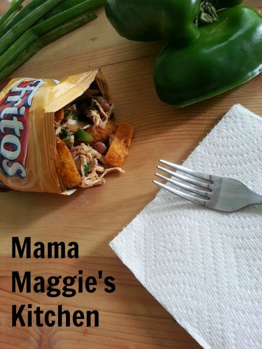 This fun & unique recipe would be great for kids &/or parties...Tacos in a Bag!