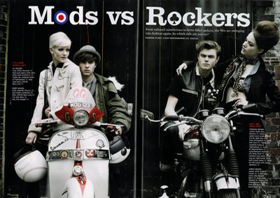 what to wear for mods and rockers party