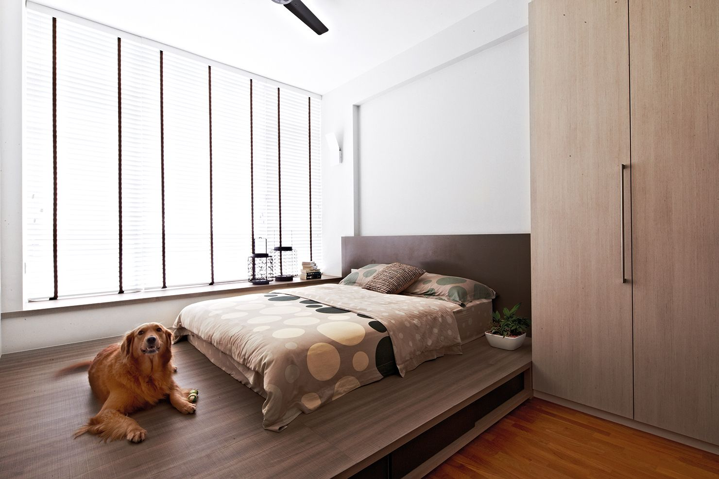 Home and decor hdb inspired home designs home decor - Bedroom with mattress on the floor ...