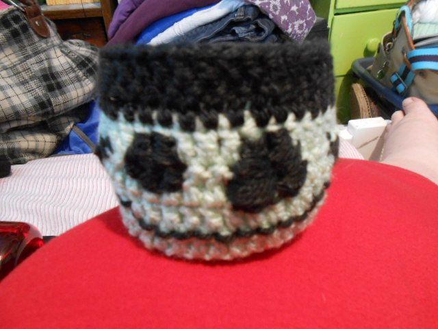 Frankenstein cup cozy :)