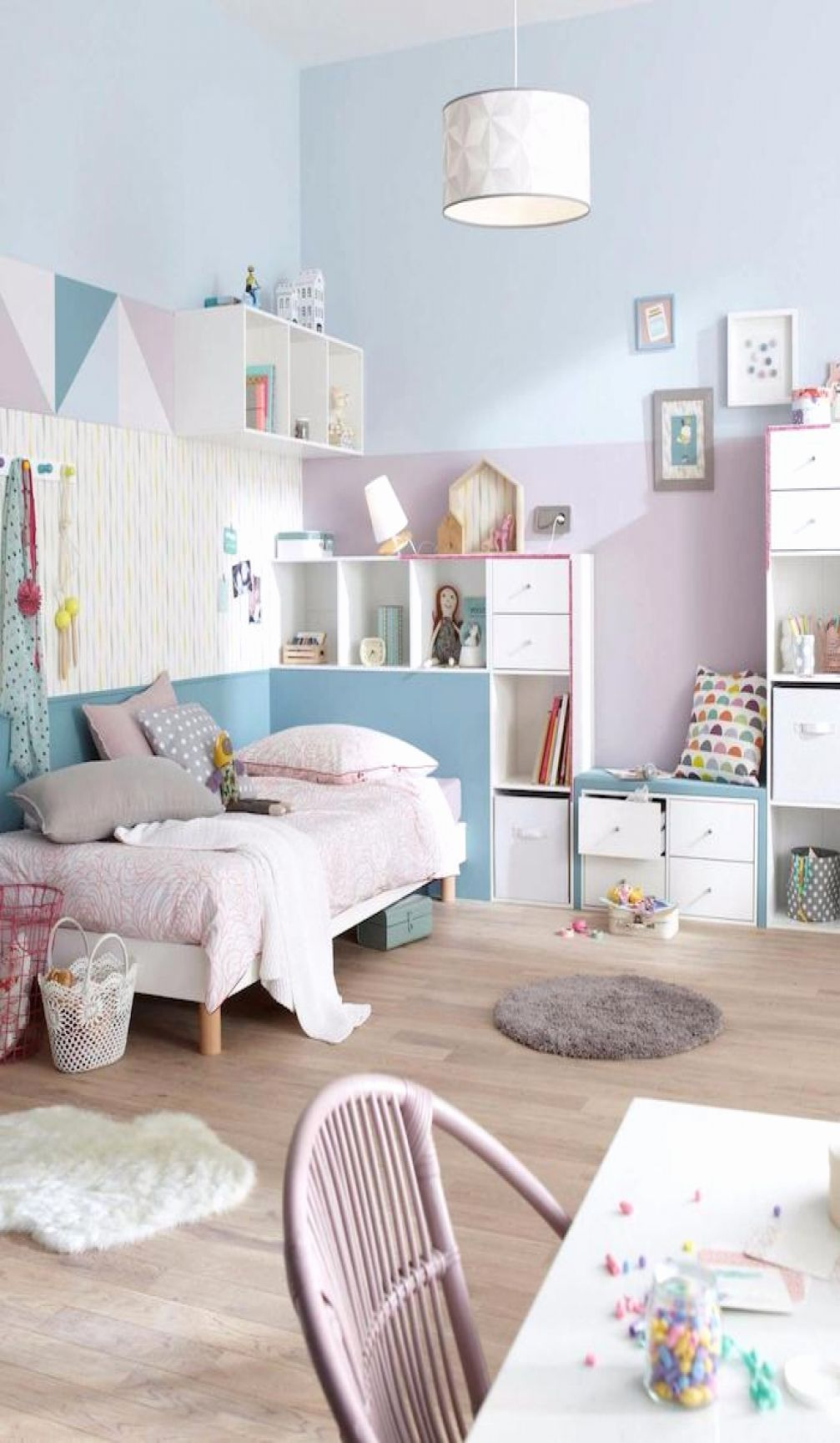 Awesome Chambre Couleur Bleu Pastel Contemporary House Chambre