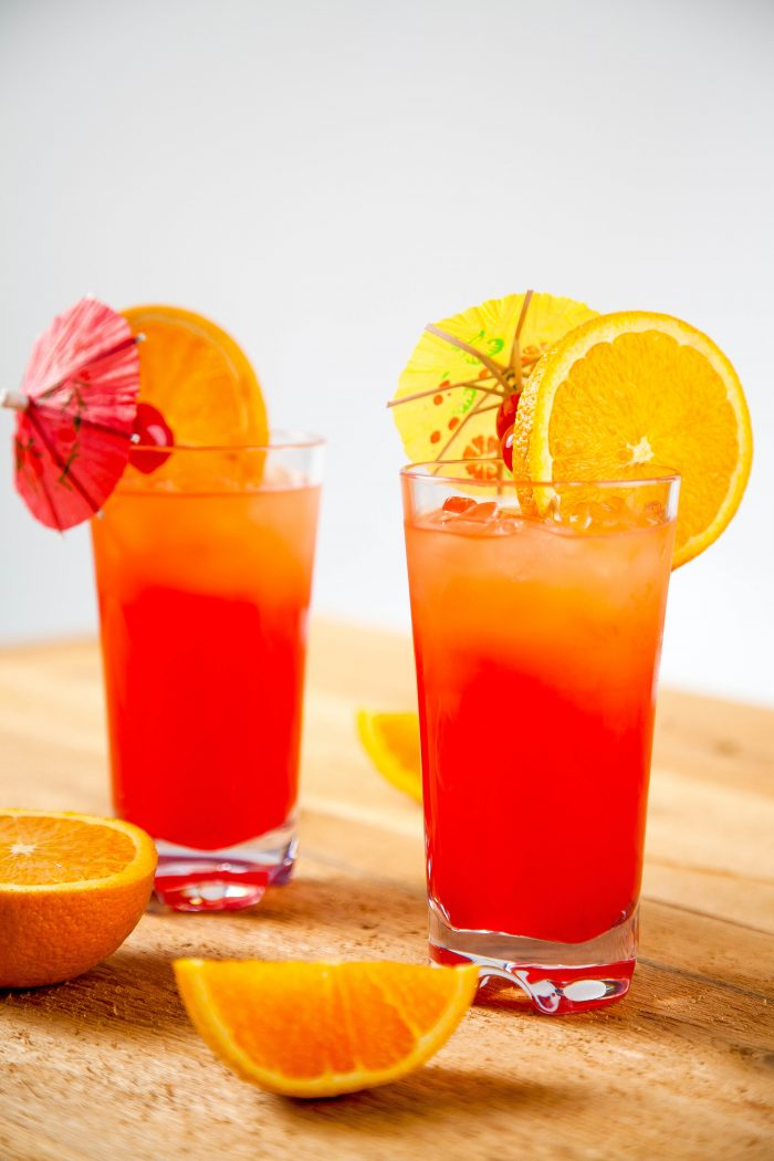Tequila Sunrise Ingredients Tequila Mixed Drinks