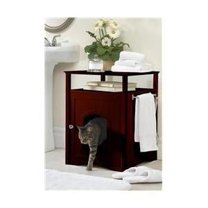 Pets Litter Box Covers Cat Box Furniture Wooden Cat House
