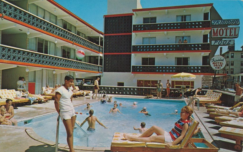 Trinidad Motel Tennessee Ave Near Boardwalk Atlantic City Nj Atlantic City Boardwalk Atlantic City City