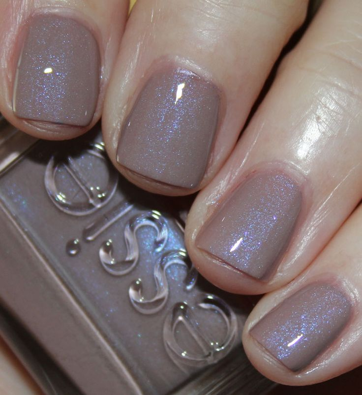 Essie Comfy In Cashmere with Top Coat | Trendy Nails | Pinterest ...
