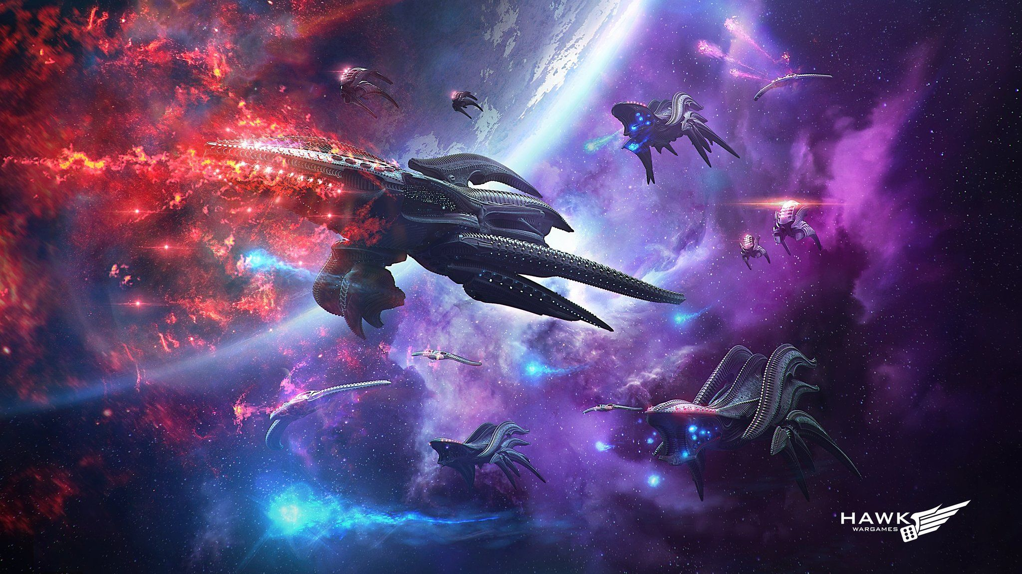 Gallery Hawk Wargames Space Battles Sci Fi Miniatures Art Album