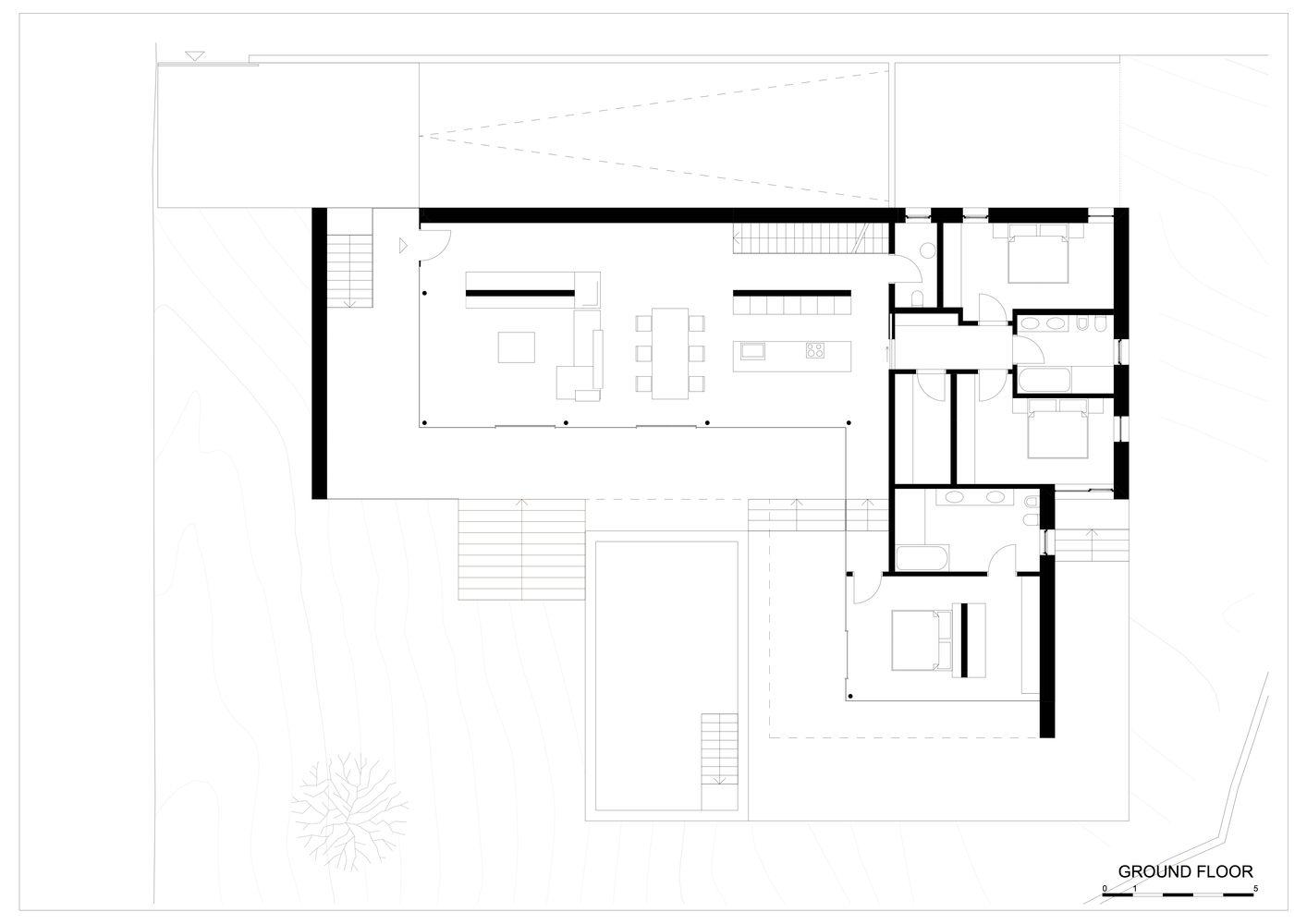 Gallery Of House T Monovolume Architecture Design 24 Diseño Arquitectonico Diseño Minimalista De Vivienda Arquitectura De La Casa