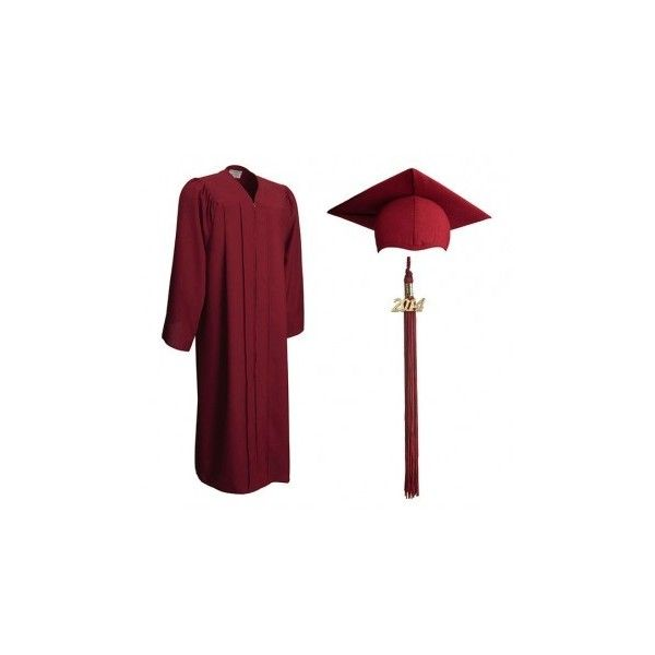 Maroon Graduation Cap and Gown | Buy Cheap Cap and Gowns Online ($27 ...