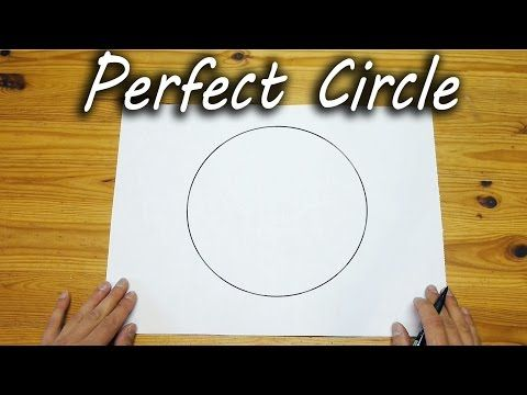 How To Draw A Perfect Circle Freehand Wise Diy A Perfect Circle Circle Drawings