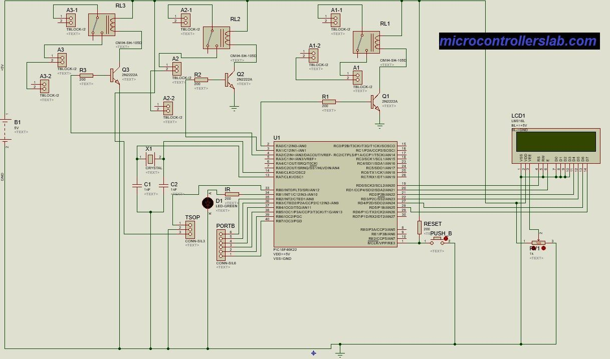 Home Automation System Schematic Diagram Explained Wiring Diagrams Tv Remote Controlled Rheem Air Conditioner