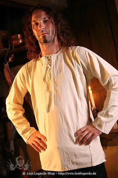 Mittelalterliches Bauernhemd