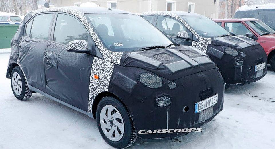 Hyundai Gets Down To Work On A New Mini I10 Mini Car