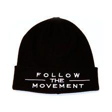 AOMG Follow the movement Beanie  BK d46a8523d0f3