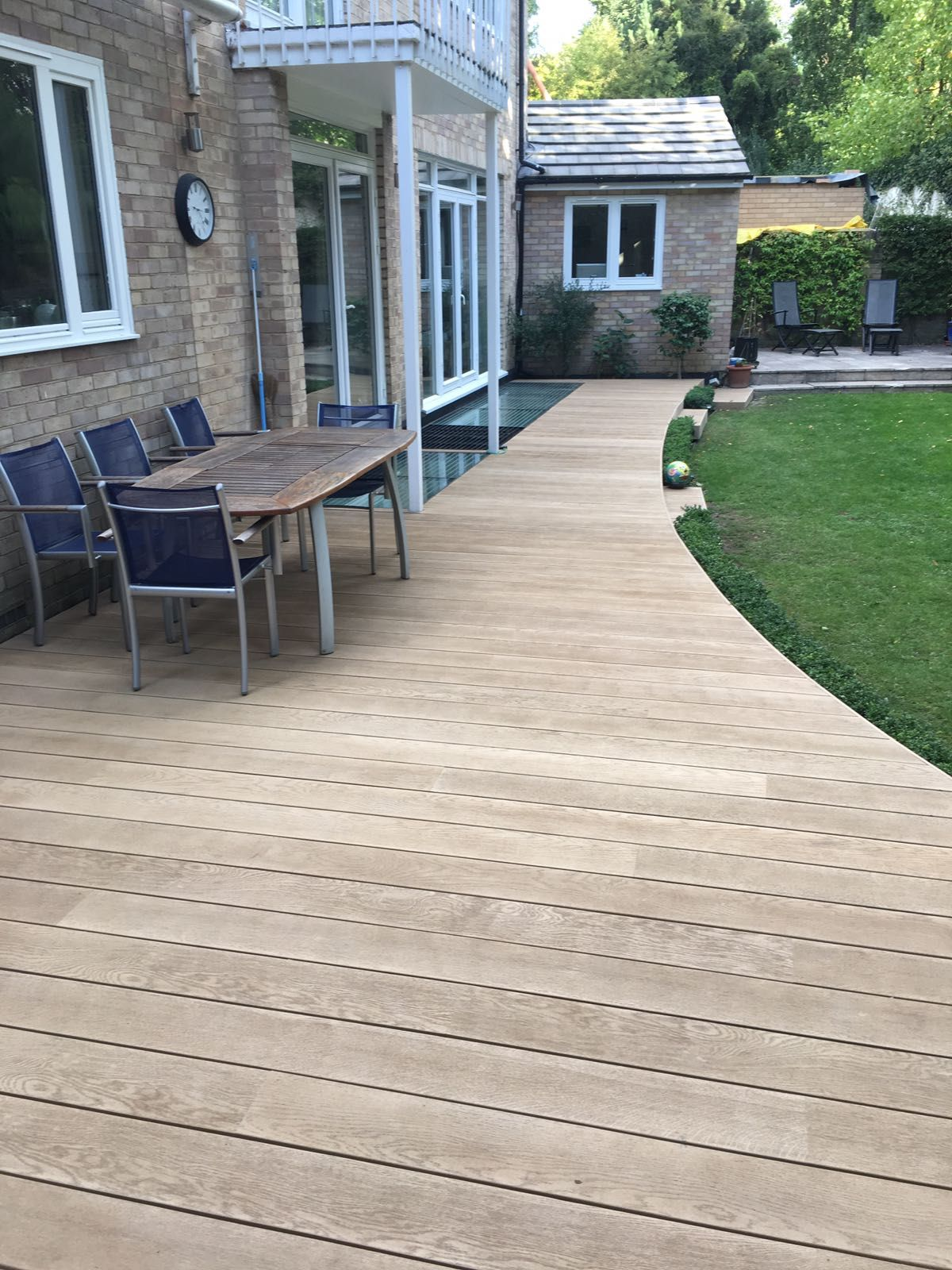 Garden Ideas Decking And Paving millboard golden oak composite decking | house | pinterest