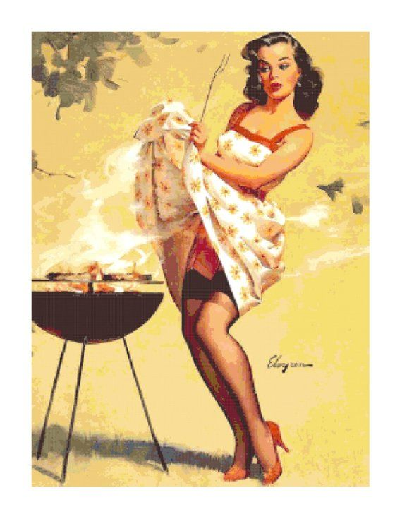 Are Vintage pin up girl pictures