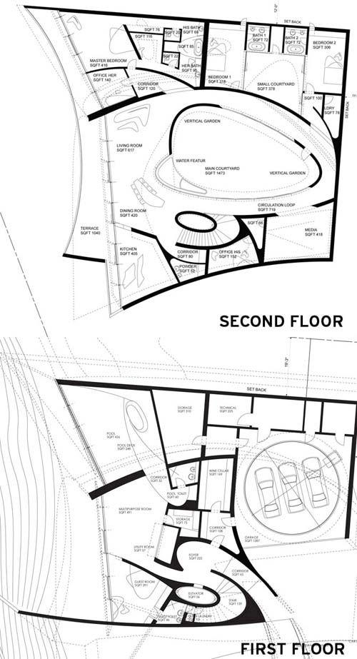 Zaha Hadid S La Jolla House Zaha Hadid Architecture Zaha Hadid Interior Zaha Hadid Design