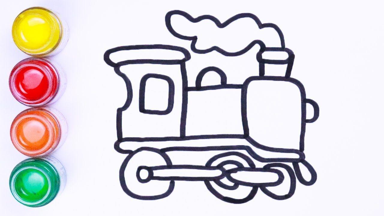 Latihan Menggambar Dan Mewarnai Cara Menggambar Lukisan Warna