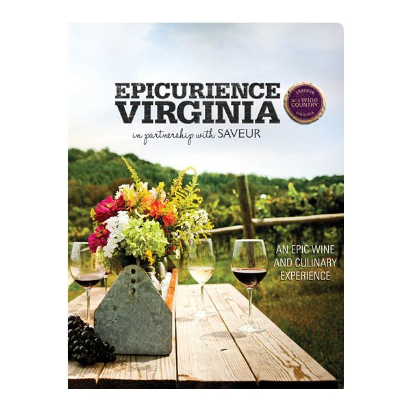 Epicuriance Virginia Wine Festival Foldgjhgjer (Front View)