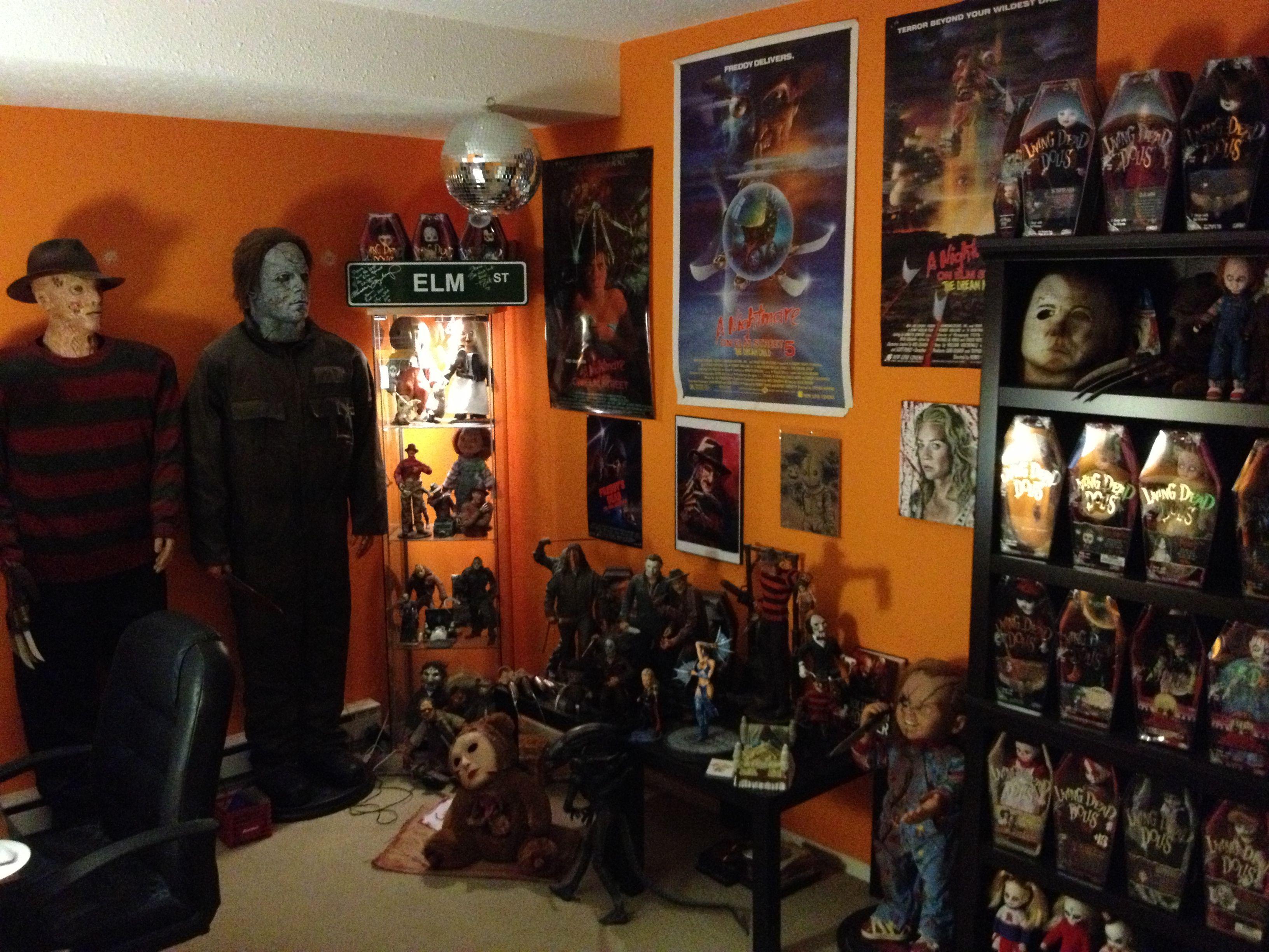 Computer Room Aka. Horror Den Man Cave