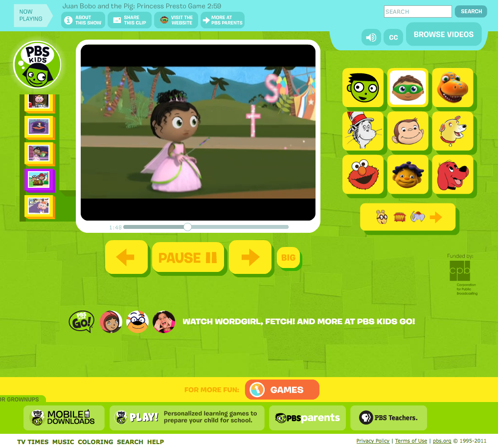 Tech Tuesday PBS KIDS Launches Interactive PlayAlong