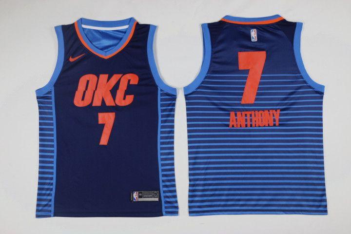 666231b340d3 NBA Oklahoma City Thunders Carmelo Anthony  7 Jerseys  houston  astros   jersey  nba  jersey