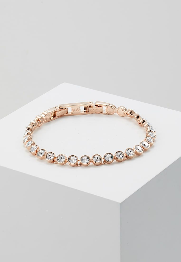 Swarovski Tennis Bracelet Armband Rosegold Coloured Zalando Be Tennis Bracelet Rose Gold Bracelet Bracelets