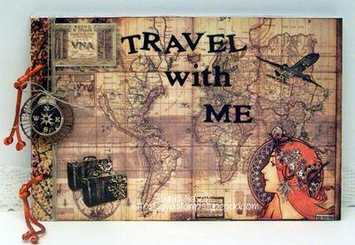 papercraft star challenge 109 a vacation journal papercraft