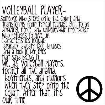 Volleyball Player Volleyball quotes, Volleyball