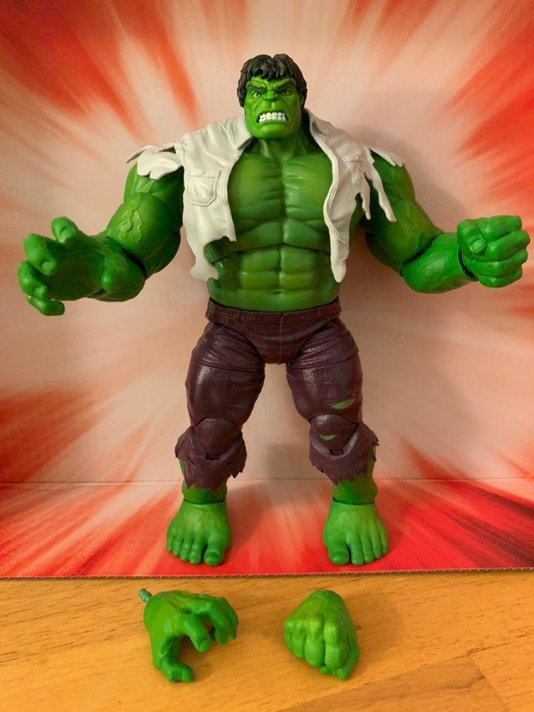 "Marvel Legends Super Hero The Avengers Movie Series Hulk 6/"" Loose Action Figure"