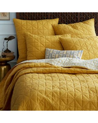 10 Easy Ways To Refresh Your Home On A Budget Yellow Bedding
