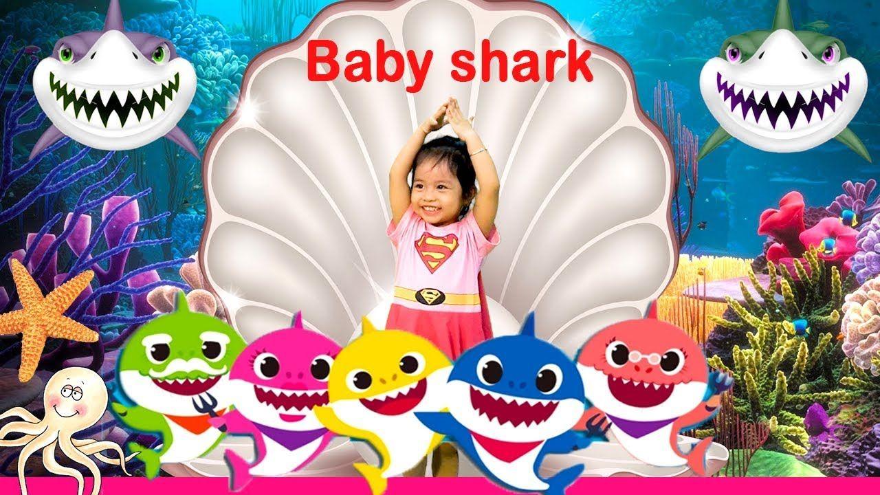 Baby Shark Dance🦈 Super Kid Dance💃 Animal Songs🎵 Songs for ...