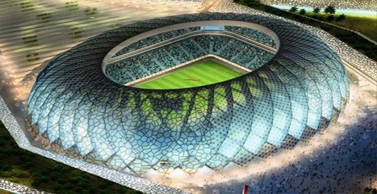 Construction To Begin On Zaha Hadid S 2022 World Cup Stadium In Qatar Stadium Architecture Stadium Design Qatar Stadium