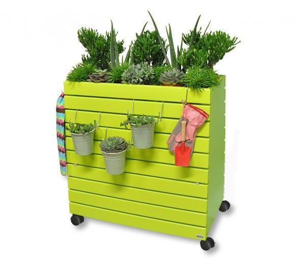 Mobiles Hochbeet Greenbox Bild 6 Hochbeet Hochbeet Balkon Erhohte Gartenbeete