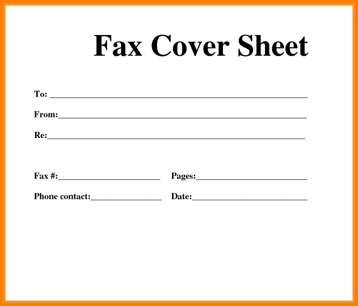 Fax Cover Sheet Template HttpsSourcetemplateComFaxCover