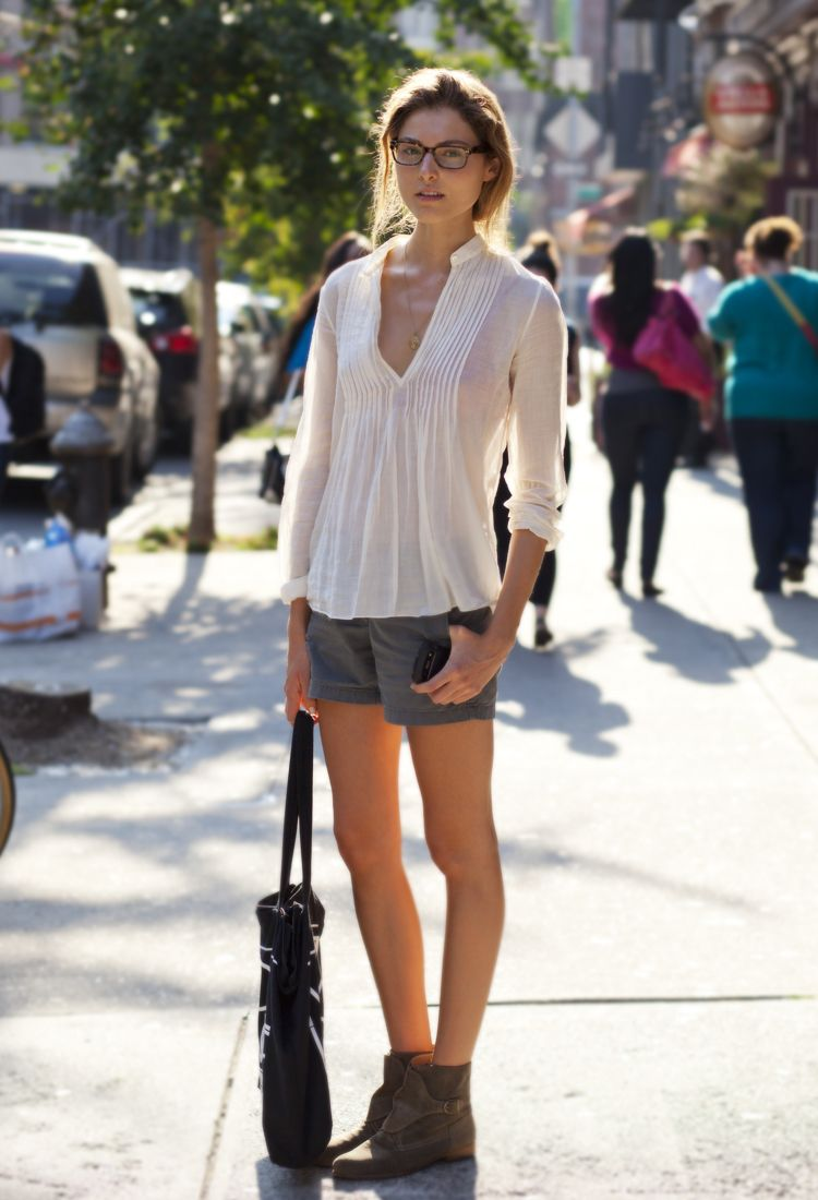 Jessica at Carmine Street and Bedford Street Style