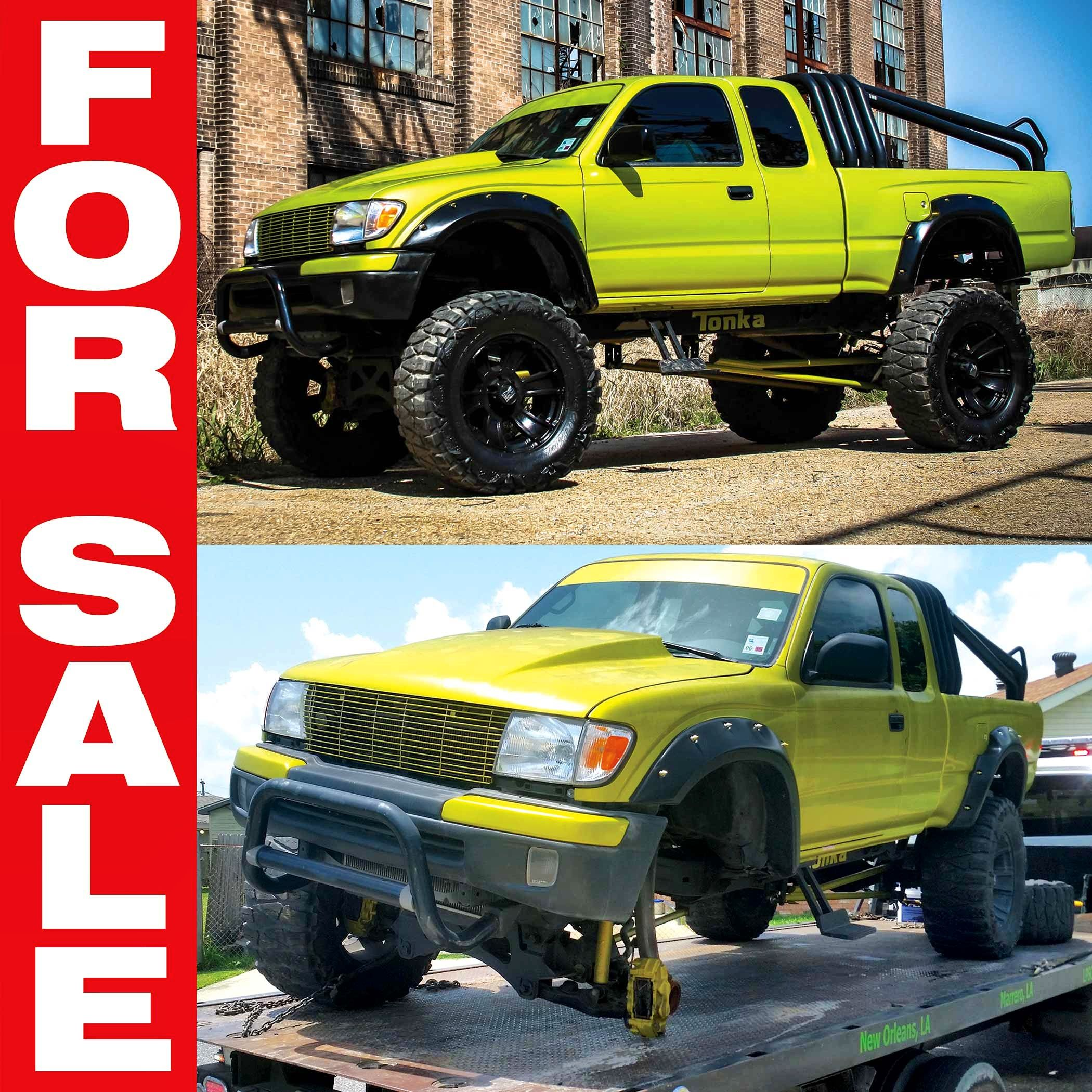 Please Share Repost The Tonka Toy Is For Sale Email Tonkatoy Pgnola Com Or Call 504 324 5469 2000 Toyo Toyota Tacoma Trd 2000 Toyota Tacoma Tacoma Trd