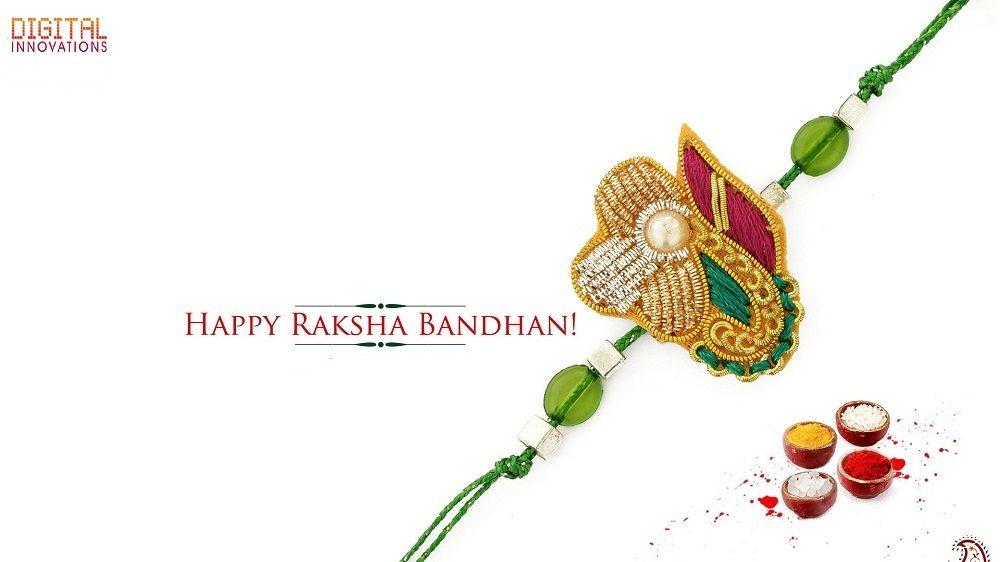 May this special day of Raksha Bandhan bring joy, peace & happiness to you & your family.  #HappyRakshaBandhan  -Regards Digital Innovations