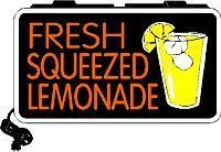 Fresh Squeezed Lemonade Backlit Illuminated Window Sign #freshsqueezedlemonade Fresh Squeezed Lemonade Backlit Illuminated Window Sign #freshsqueezedlemonade